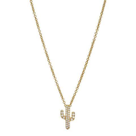 sugarbean cactus necklace