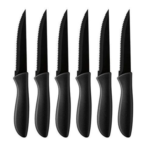 Cuisinart 6-pc. Ceramic Coated Steak Knife Set