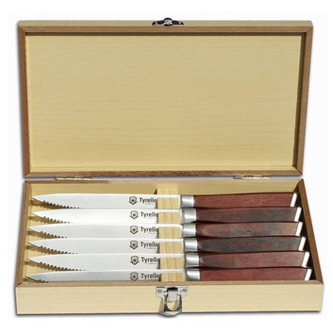 Tyrellex Premium Steak Knife Set