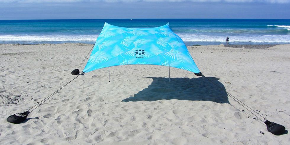 Neso Tent Prints Stakeless Beach Tent & 12 Best Beach Tents for Summer 2018 - Beach Tents Canopies and ...