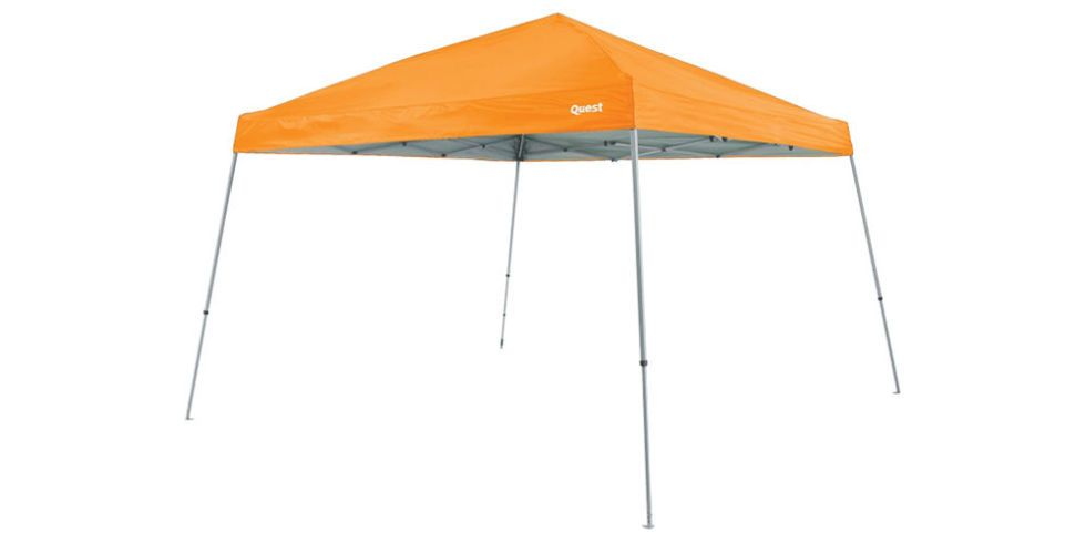 Quest Q64 Slant Leg Instant-Up Canopy  sc 1 st  BestProducts.com & 12 Best Beach Tents for Summer 2018 - Beach Tents Canopies and ...