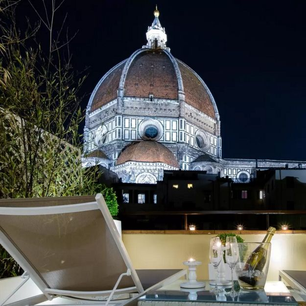 """<p><strong>Best spot for seriously breathtaking city views<br></strong><strong><em>$139 per night, <a href=""""https://www.airbnb.com/rooms/540731?guests=2&s=DJKnHCwJ&check_in=2017-06-01&check_out=2017-06-04"""" target=""""_blank"""">airbnb.com</a></em></strong></p><p>If exploring Italy on foot is in your plans, this spot is ideal. And truly, the view from this apartment is enough to sell us on it! You get a front-row seat from the terrace overlooking the <a href=""""http://www.museumflorence.com/"""" target=""""_blank"""">Duomo</a>, Florence's most well-known cathedral. The building itself is meters from Dome Square, ideal for visiting monuments, art galleries, and more popular tourist attractions. Guests even said they got around the area by using the Duomo as a reference point, in lieu of a map! But if you ask us, we'd never leave the terrace. The apartment comes with all your typical home comforts, and the host is said to provide fantastic insights into the city and a warm welcome.<br></p><p><strong>More: </strong><a href=""""http://www.bestproducts.com/lifestyle/g1437/best-vacation-rental-homes/"""" target=""""_blank"""">50 Best Vacation Rentals to Book ASAP</a><br></p>"""