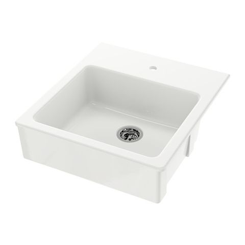 IKEA DOMSJÖ Single Bowl Apron Front Sink
