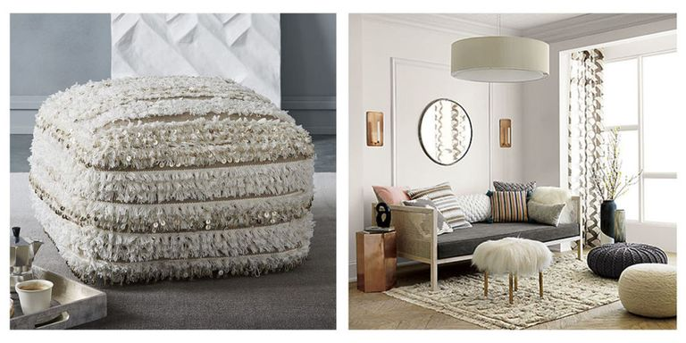 Fantastic 15 Best Poufs for Every Decor in 2018 - Moroccan Style Floor Poufs  QF72