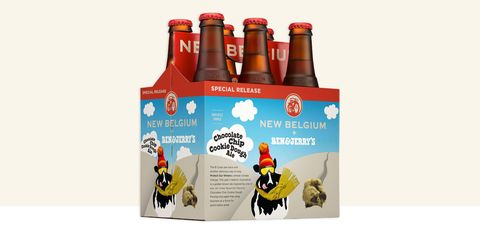 Ben & Jerry's New Belgium beer