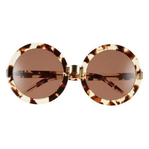 wildfox malibu round tortoise sunglasses