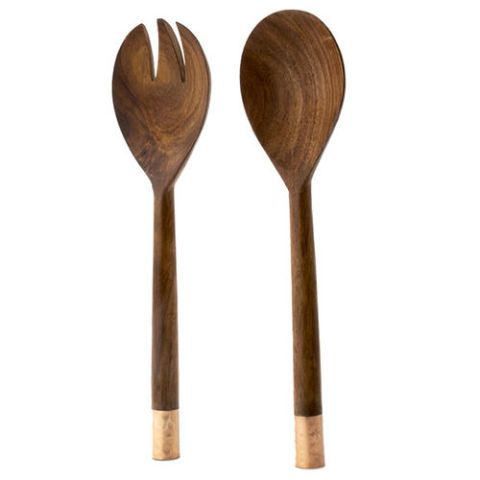 Urban Farm 2 Piece Salad Fork and Spoon Set by Thirstystone