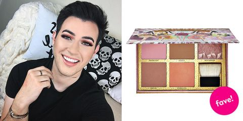 "<p><strong><a href=""https://www.youtube.com/watch?v=Qdn3pMABJeI"" target=""_blank"">Manny MUA</a>'s Favorite Product: <br>Benefit Cosmetics Cheekathon Blush & Bronzer Palette<br><em>$58 </em></strong><em><strong><a href=""http://www.sephora.com/cheekathon-blush-bronzer-palette-P405573"" target=""_blank"" class=""slide-buy--button"">BUY NOW</a></strong><br></em> </p><p><strong>What: </strong>A beneficial collection that's downright cheeky, the brand marries its best-selling blushes and bronzers for an all-in-one palette. Offering up your faves in full-sized squares, flaunt each powder solo or pair together for a fleeky contour and highlight. </p><p><strong>Why:</strong> ""This is bomb. Five full-size powders: Dandelion, Hoolah,  Rockateur, Dallas, Coralista, you get a little brush! It's literally worth $145, but it's only 58 bucks! It's such a high value. Look at it. It's so pretty.""</p>"
