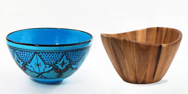 Popular 13 Best Salad Bowls in 2018 - Large Wooden and Glass Salad Serving  ZF17