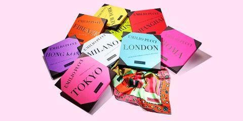 Emilio Pucci city scarves