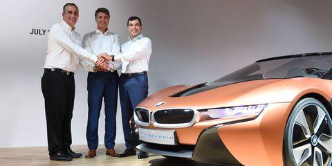 BMW Intel Mobileye automated cars