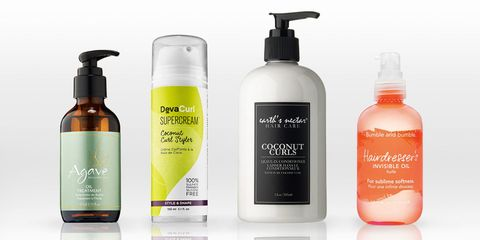 coconut oil hair products