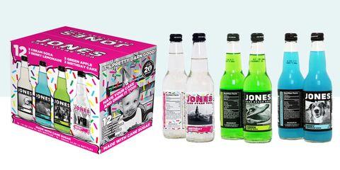 Jones Soda birthday cake variety pack