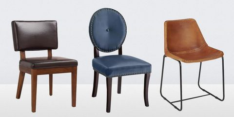 13 Best Leather Dining Room Chairs in 2018 - Leather Side, Arm, and ...