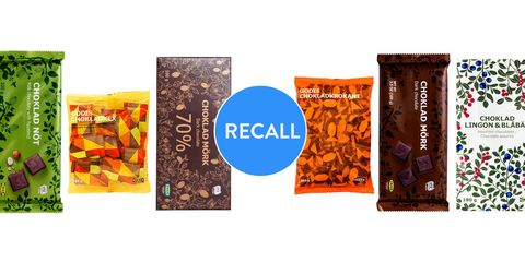 Ikea chocolate recall