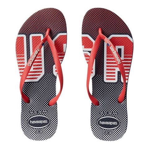 heaviness team usa flip flops