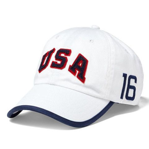 ralph lauren team usa white sports cap