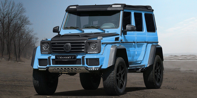 Custom G Wagon >> Mansory Announces New Mercedes G Wagon 2018