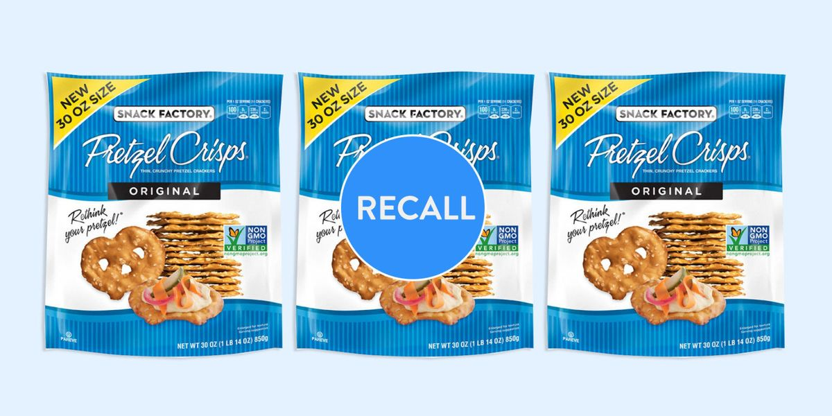 Pretzel Crisps Recall 2018 May Contain Undeclared Milk