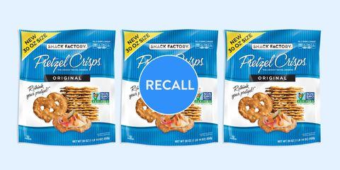 pretzel chips recall