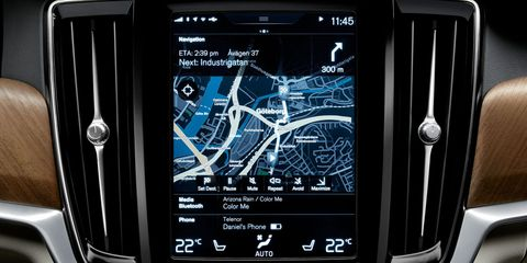 GPS in-car navigation systems