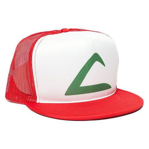 pokemon ash cosplay snapback