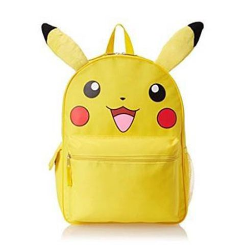 "<p><strong><em>$18</em></strong> <a href=""https://www.amazon.com/Pokemon-Pikachu-Canvas-Backpack-Plush/dp/B00WH5NXRI?tag=bp_links-20"" target=""_blank"" class=""slide-buy--button"">BUY NOW</a></p><p>Store all of your proverbial Pokeballs in this backpack as you catch and train Pokemon throughout your city. What better way to play the game than with a Pikachu sidekick on your back!</p><p><strong>More: </strong><a href=""http://www.bestproducts.com/tech/electronics/g235/best-video-game-consoles-systems/"" target=""_blank"">Upgrade Your Video Game Consoles With These Top Picks</a></p>"