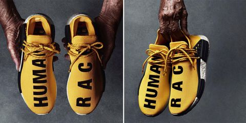 5a7d56aa4bcb4 Pharrell x Adidas NMD Human Race Limited Edition Sneakers Out Now