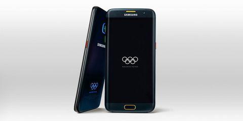 Samsung Galaxy S7 Olympics smartphone