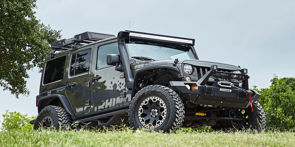 Go Rhino Modified Jeep
