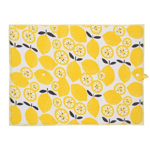 Now Designs Microfiber Lemon Pop Drying Mat