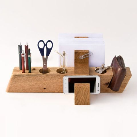 Less And More Large Desk Organizer