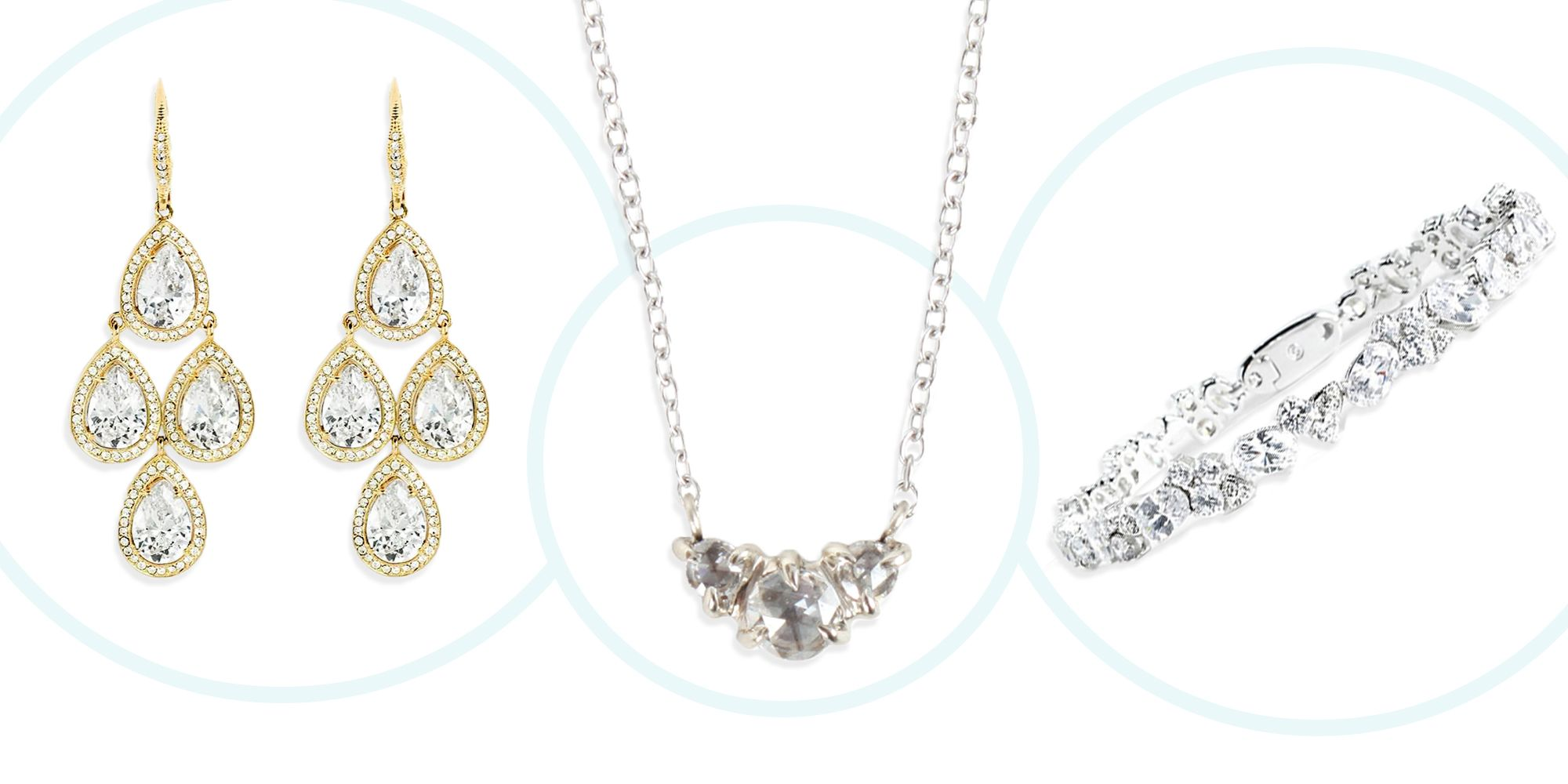 2708d7555 Best Bridal Jewelry for Your Wedding 2018 - Bridal Earrings ...