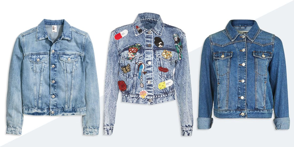 10 Best Denim Jackets for Women Fall 2018