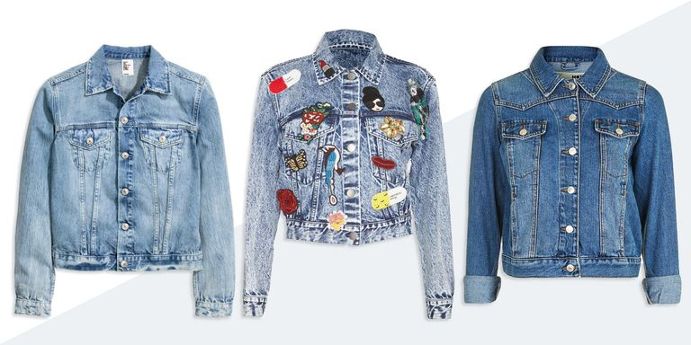 10 Best Denim Jackets for Women Fall 2018 - Classic Blue Jean Jackets