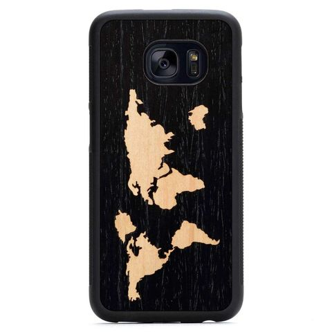 Carved Wood Case Samsung