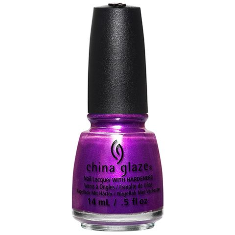 China Glaze in Purple Fiction