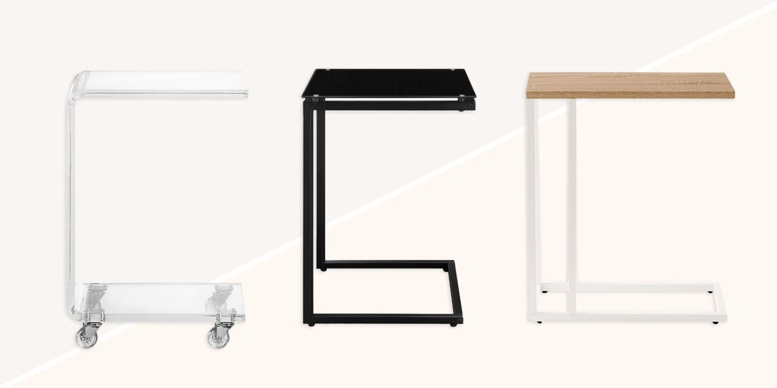 C Shaped End Tables