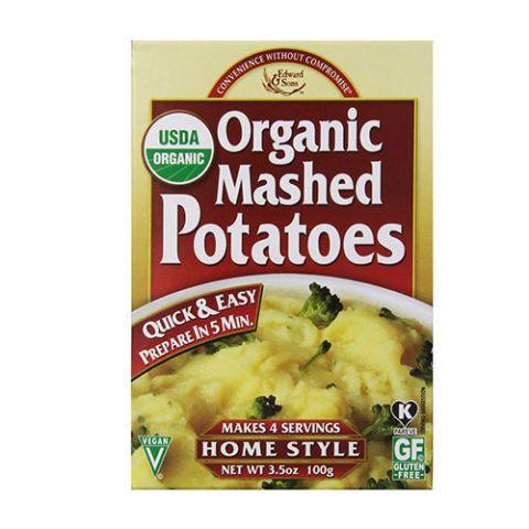 Edward & Sons Organic Mashed Potatoes