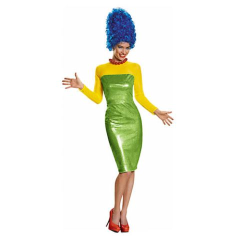 Adult Marge Simpson Costume Premium - The Simpsons  sc 1 st  Cosmopolitan & 100 Best Halloween Costumes of 2016 - Top Trending Costume Ideas ...