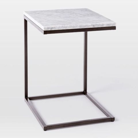 West Elm Box Frame C-Base Side Table