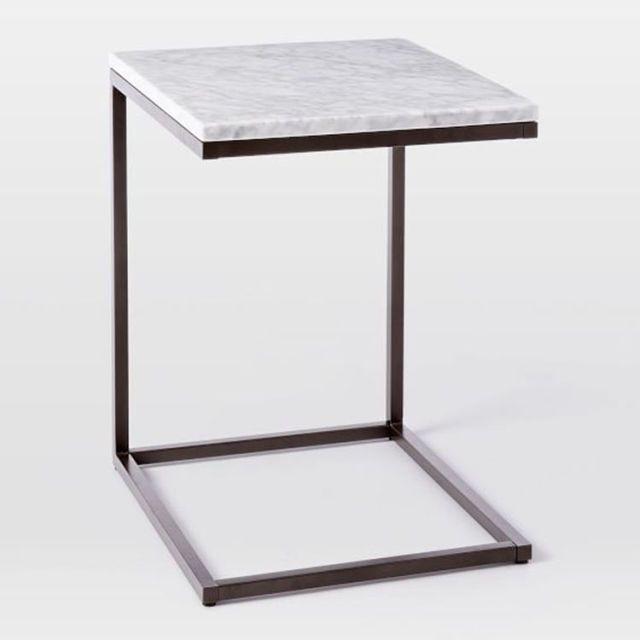 West Elm Box Frame C Base Side Table