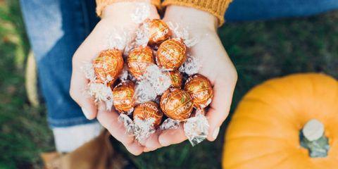 Lindt LINDOR Pumpkin Spice Truffles