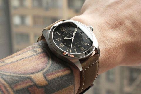 Hamilton khaki field watch giveaway
