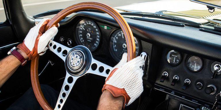 leather gloves driving blog ferrari store january