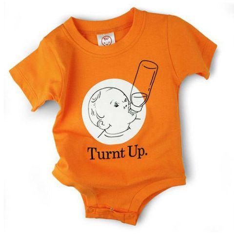 Turnt Up Baby Onesie