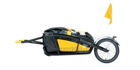Topeak Journey Cargo Bike Trailer and DryBag