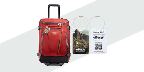 ebags connected luggage tags