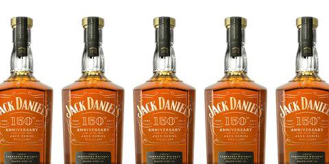 Jack Daniel's 150th anniversary bottle