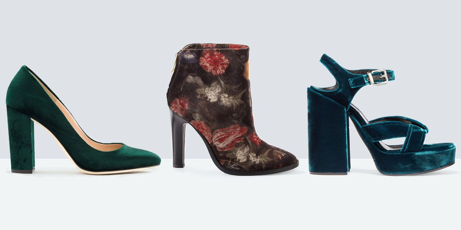 Leather and suede may be an autumn mainstay, but this season, regal velvet  reigns supreme. Up the plush in your shoe collection with these 10 styles  that ...